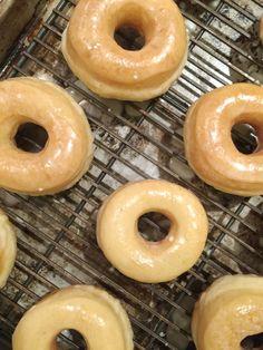 Spudnuts (Glazed Yeast Doughnuts)