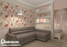 Гостиная-спальня-кабинет! - Дизайн интерьера - Babyblog.ru
