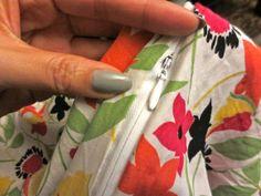 Adding a zipper to a dress | Curve Happens