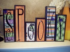 Wood blocks, cute!