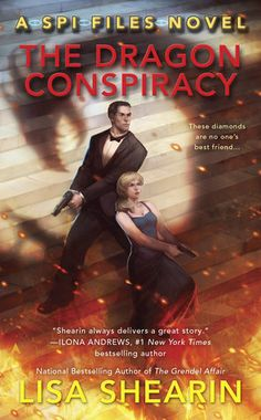 Book review of THE DRAGON CONSPIRACY by Lisa Shearin, book two in the SPI Files series. Published by Ace in 2015. Genre: urban fantasy