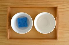 Montessori sponging activity from How We Montessori (this may be my new favorite blog!)