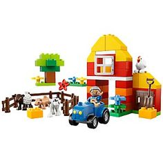 Buy Lego Duplo My First Farm online at JohnLewis.com - John Lewis