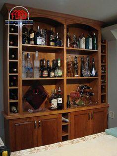 tủ rượu gỗ đệp giá rẻ
