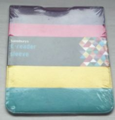 *NEW*  E-reader Sleeve, Brightly Coloured, protect your e-reader