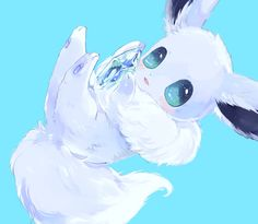 Extremely Cute Shiny Eevee