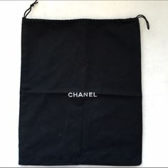 """CHANEL dust / travel bag Authentic Chanel dust bag / travel bag. In excellent condition; like new. 15""""x13"""""""". Coat hanger for scale. Price is firm unless bundled; offers will be declined. CHANEL Accessories"""