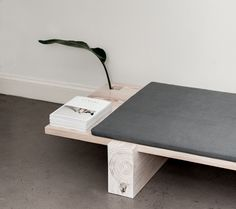 B|01 is a minimal bench created by Brooklyn-based designer Levi Gordy