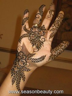 Arabic Mehndi Designs 44