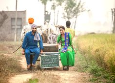 Save the date pictures for Punjabi wedding