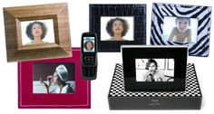 A digital photo frame is a fantastic gift idea for our loved ones who may struggle with the ins and outs of the internet. From Our Interior Design Blog at Design Connection, Inc.   Kansas City Interior Design http://designconnectioninc.com/blog/ #DigitalPictureFrame #InteriorDesign #DesignInspiration #PictureFrame