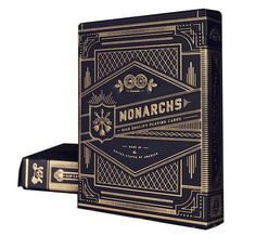 Top Deck Cards You Should Buy: Top Deck Cards: Theory11 Monarch Playing Cards (Black, 3.5 x 2.5-Inch)