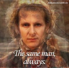all of the faces of the doctor fused together. His real face!?!?