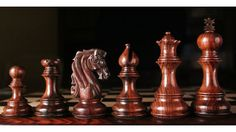 Triple Weighted Chess Set Rose Wood 4 Queens. http://www.chessbazaar.com/triple-weighted-chess-set-rose-wood-4-queens.html