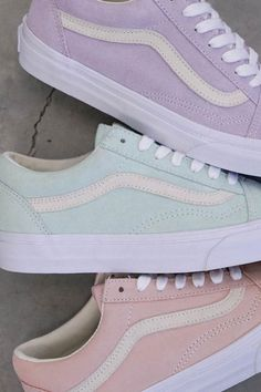 Love these pastel vans for spring and summer. - Love these pastel vans for spring and summer. – – Shoes ,… Love these pastel vans for spring and summer. Vans Sneakers, Tenis Vans, Sneakers Fashion, Fashion Shoes, Summer Sneakers, Summer Shoes, Spring Shoes, Fall Shoes, Pastel Outfit Spring
