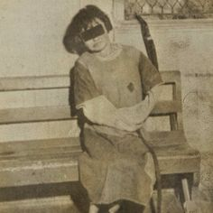 Unknown date, Looks to be very old. Poor girl must have been so scared. This is history that needs to be explained.