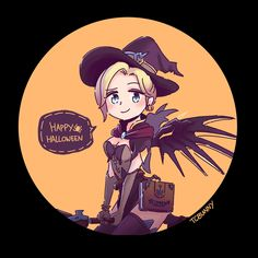 Mercy's witch skin