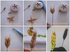 Výsledek obrázku pro tutorial spiga di grano in pasta di zucchero