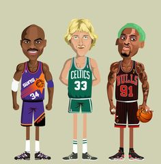 Barkley, Bird, & Rodman