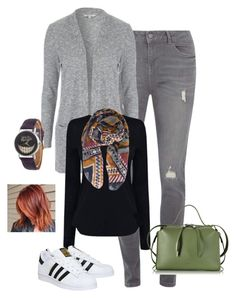"""""""Untitled #79"""" by h-tearle on Polyvore featuring Dorothy Perkins, Helmut Lang, adidas, Pieces and Jil Sander"""