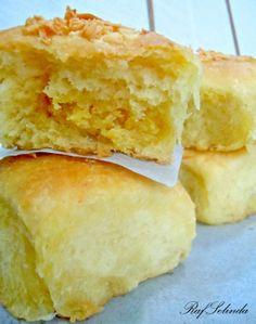 Rafselinda's Diary ♥: Milk Filled Bun (Roti Isi Susu)