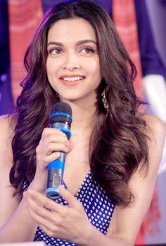 Deepika Padukone during Piku promotions