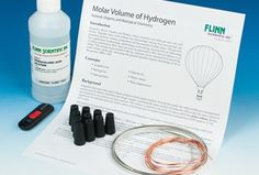Molar Volume of Hydrogen: General, Organic and Biological Chemistry (GOB) Lab Kit