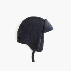 J.Crew Gift Guide: men's trapper hat.