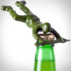 Army Man Bottle Opener...  Gotta say, this is cool!