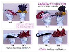 Belle Epoque Hat Pattern