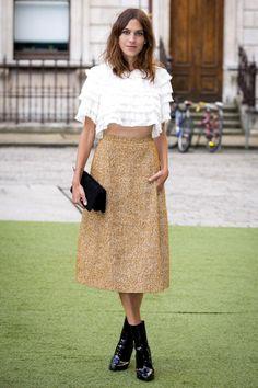Алекса Чанг в Chanel на открытии летнего сезона Royal Academy