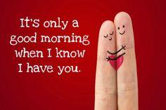 20 Good Morning Texts for Him | herinterest.com