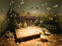 Teddy bear diorama. Teddy Bear Museum, Korea, 2011.
