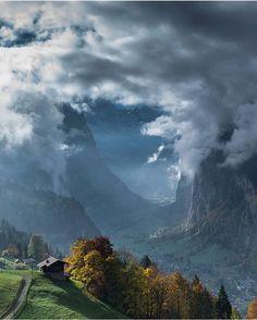"""Lauterbrunnen, Switzerland Photography by @scotts_shotz"""