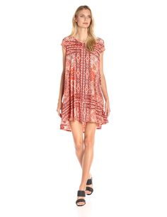 Karen Kane Women's Sagebrush Maggie Trapeze Dress