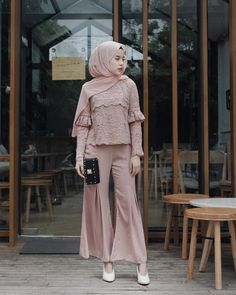 25 Stylish And Fashionable Hijab Fashion For Teens Kebaya Modern Hijab, Kebaya Hijab, Kebaya Dress, Model Kebaya Muslim, Model Kebaya Brokat Modern, Batik Kebaya, Maxi Outfits, Fashion Outfits, Street Hijab Fashion