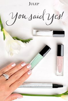 Get this wedding beauty box featuring three perfectly bridal polishes for free when you join Julep Maven!  Use code BRIDE. Offer expires 8/31/15. Great Brand!!!!!!