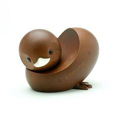 70年代デッドストック ロイヤルペット マンダリンダック    #bird #objet #wooden #toy #duck #mandarinduck #torimizuki