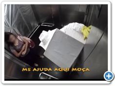 And how you will react in this situation? #fridayfun #prank #laugh Bees-in-elevator-Prank