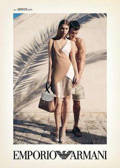 Emporio Armani's Spring/Summer 2013 Campaign Features Arran Sly & Marlon Teixeira