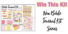 Win This Bible Journaling Kit! #biblejournaling #artjournaling #free