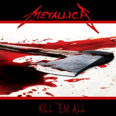 "While the early version of Metallica's ""Kill 'Em All"" CD cover was cool, it was lacking all it's ""gory."" This is my version right here, more brutal, more gory, my graphic, and with more blood. The ..."