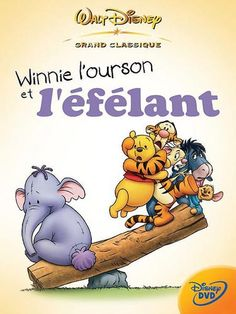 Winnie l'ourson et l'éfélant en DVD occasion pas cher | DVD-Comme-Au-Cinéma.com Dvd Disney, Film Disney, Hd Streaming, Streaming Movies, Eeyore, Tigger, The Image Movie, Movies And Tv Shows, Winnie The Pooh