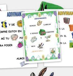 Adivinanzas con pictogramas - Escuela en la nube