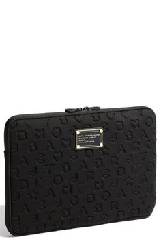 next laptop case? black marc jacobs to go with my pink laptop