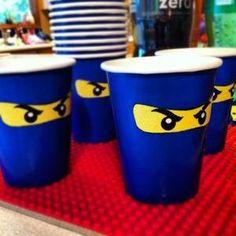 Ninja-GO cups a cualquier cosa se le puede hacer los ojitos de ninja!