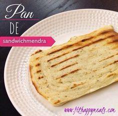 PAN DE SANDWICHMENDRA (Pan sin harina - para cenar - Fit Happy Meals)