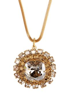 Crystal Surround Cushion Pendant Necklace by Liz Palacios on @nordstrom_rack
