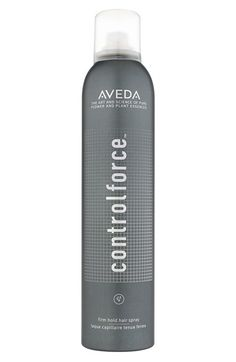 Free shipping and returns on Aveda 'control force™' Firm Hold Hair Spray at Nordstrom.com. Aveda's firmest hold hair spray offers long-lasting hold and humidity defense for all hair types and has a net-zero climate impact.<br><br>Features and benefits:<br>- All-day firm hold and 24-hour humidity defense.<br>- Fast-drying, nonflaking formula.<br>- UV filters and antioxidants.<br>- Organic essential oils of Bulgarian lavender, bergamot, palmarosa and vetiver produce a calming aroma.<br…