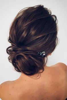 Lovely Bridesmaid Hairstyles with Bun picture 3 #weddinghairstyles #hairstylesrecogido